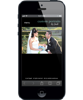 Mobile web design web development photography sites photographers iPhone iPad Android online photo gallery HTML5 CSS PHP Javascript ECommerce Fort Smith Arkansas